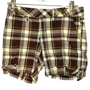 Unionbay Plaid Cuffed Jamaican Shorts (Size: 3)
